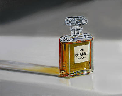 Painting - Chanel No 5 by Gail Chandler