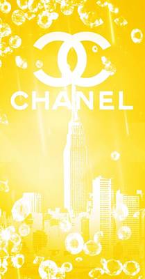 Chanel Art Print by Pierre Chamblin