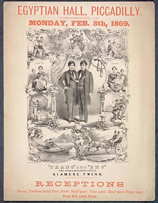 Chang And Eng Art Print by British Library