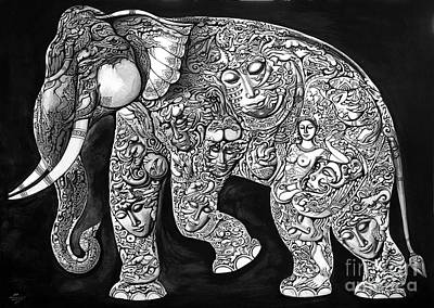Chang Art Print by Kritsana Tasingh