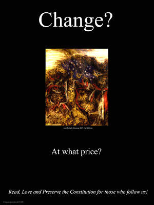 Change At What Price Art Print