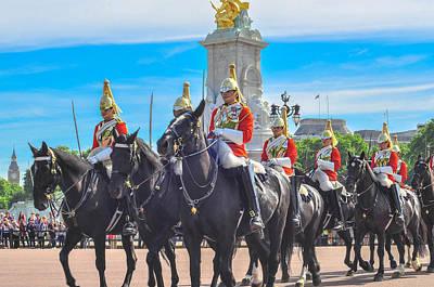 Change Of Horse  Guards Original by Anusha Hewage