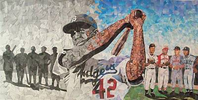 Negro Leagues Mixed Media - Change by Tim Carroll