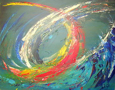 Abstrac Painting - Changes Needed by Lalo Gutierrez
