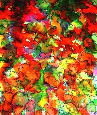 Mixed Media - Changing Colors by Hazel Holland