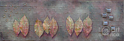 Mixed Media - Changing Leaves by Phyllis Howard