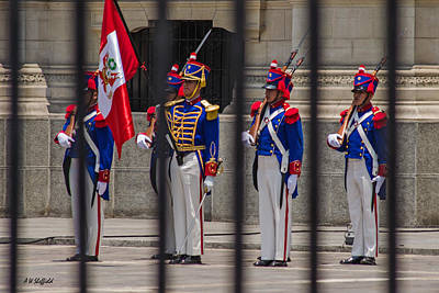 Photograph - Changing Of The Guard 1 by Allen Sheffield
