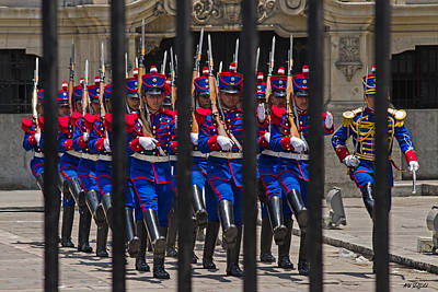 Photograph - Changing Of The Guard 2 by Allen Sheffield
