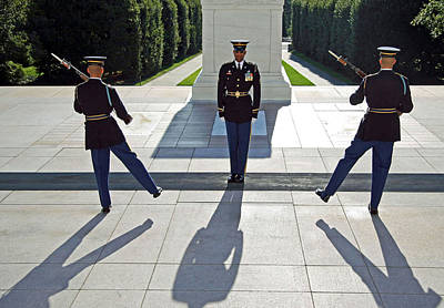 Photograph - Changing Of The Guard by Cora Wandel