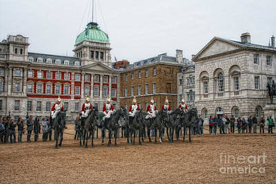 Photograph - Changing Of The Guard by Gina Cormier