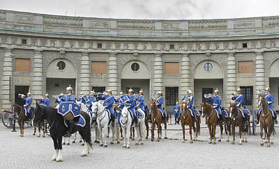 Art Print featuring the photograph Changing Of The Guard II by Roy  McPeak