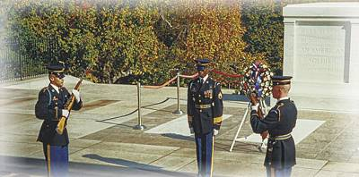 Photograph - Changing Of The Guard by Joe Duket