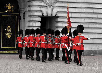 Photograph - Changing Of The Guards by Ken Johnson
