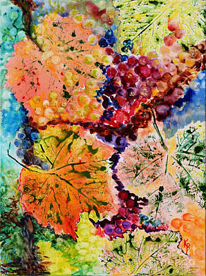 Painting - Changing Seasons by Karen Fleschler