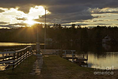 Art Print featuring the photograph Changing Skies by Alice Mainville