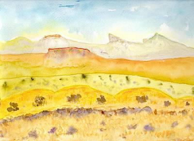 Painting - Changing Terrain by Jim Taylor