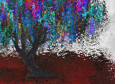 Installation Art Painting - Changing Tree by Jack Zulli