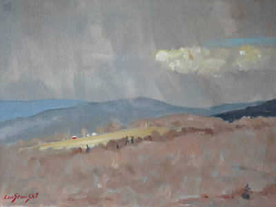 Painting - Changing Weather by Len Stomski