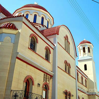 Chania Photograph - Chania Church 03 by Antony McAulay