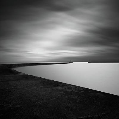 Piers Wall Art - Photograph - Channel Entrance by Mats Reslow