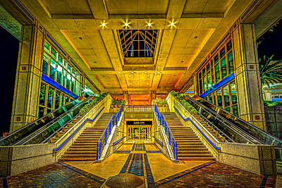 Convention Centers Photograph - Channel Entry by Marvin Spates