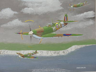 Painting - Channel Sweep by James Lawler