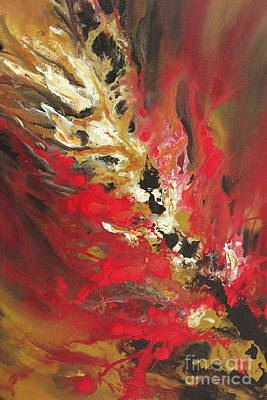 Painting - Channelling Energy by Preethi Mathialagan