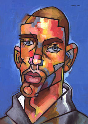 Painting - Channing by Douglas Simonson