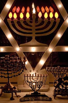 Hanukah Photograph - Chanukah I by Michael Friedman