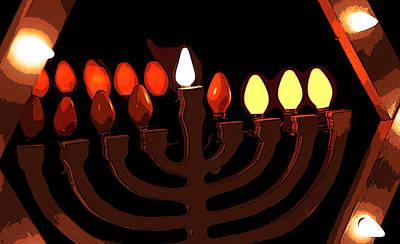 Hanukah Photograph - Chanukah II by Michael Friedman