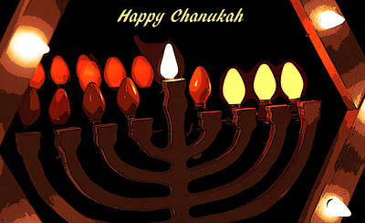 Hanukah Photograph - Chanukah IIc by Michael Friedman