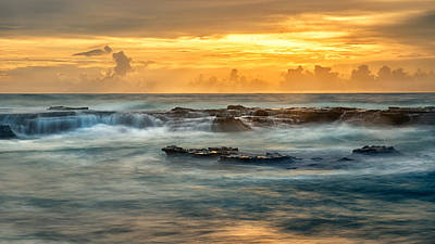 Beach Photograph - Chaos And Beauty  by Tim Brown