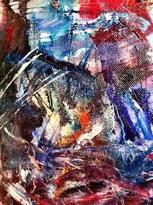 Painting - Chaos by Fareeha Khawaja