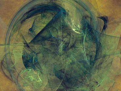 Chaotic Regions Art Print