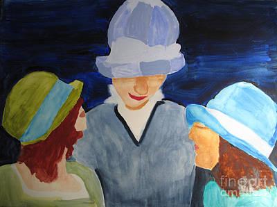 Chapeaux Trois Art Print