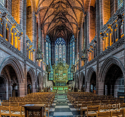 Liverpool Photograph - Chapel by Adrian Evans