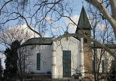 Thomas Merton Photograph - Chapel And Tower I by Thia Stover