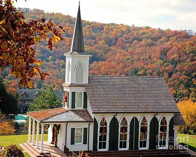 Chapel At Big Cedar Art Print