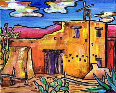 Painting - Chapel At Degrazia by Alexandria Winslow