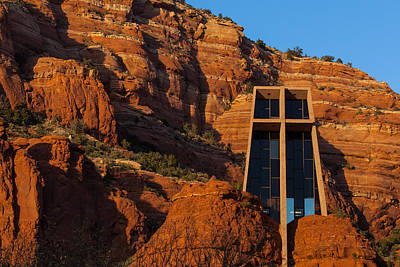 Photograph - Chapel At Sedona by Ed Gleichman