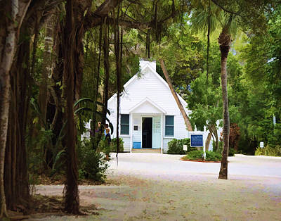 Photograph - Chapel By The Sea by Sandy Poore