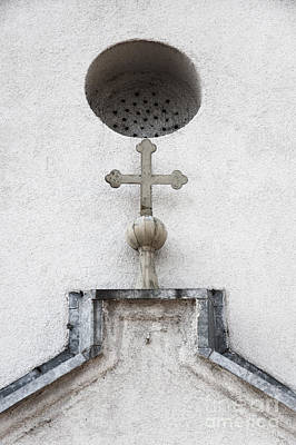Photograph - Chapel Entrance Detail by Agnieszka Kubica