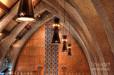Chapel Photograph - Chapel Full Color Hdr by Hilton Barlow