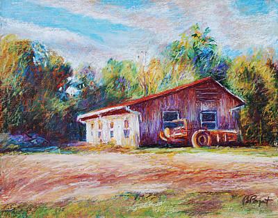 Chapel Hill Creamery Barn Original by Bethany Bryant