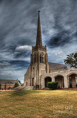 Religion Photograph - Chapel by Hilton Barlow