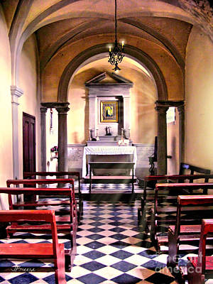 Chapel In Firenze Art Print by Jennie Breeze