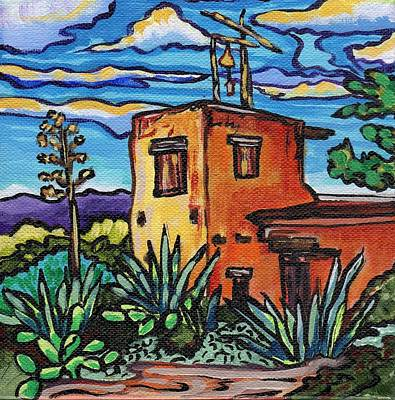 Painting - Chapel In The Desert by Alexandria Winslow
