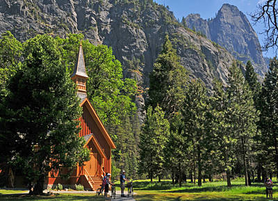 Photograph - Chapel In The Valley by Lynn Bauer