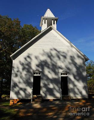 Photograph - Chapel In The Woods 1 by Mel Steinhauer