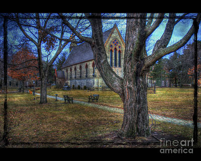 Chapel Art Print by Jim Wright